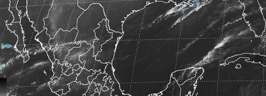 Llega norte al Golfo de México con rachas de viento superiores a 70 km/h