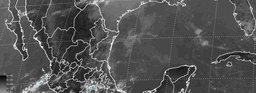 Tormentas muy fuertes y granizo en Coahuila y torbellinos Nuevo León por Frente Frío Número 40
