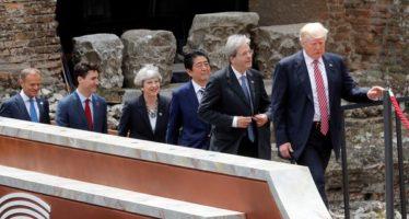 La Cumbre del G7 finaliza sin acuerdo sobre cambio climático