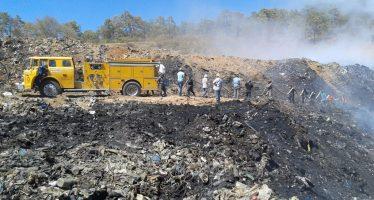 Alerta la SEMARNACC a Ayuntamientos ante incremento de incendios en tiraderos de basura