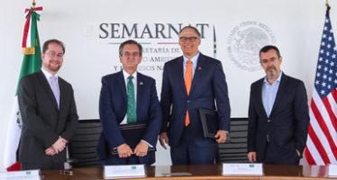 Semarnat y gobierno de Washington, firman Carta de Intención en temas de cambio climático.