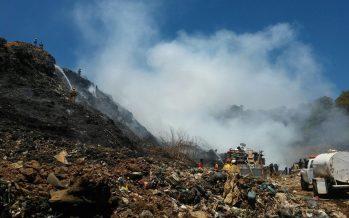 Controla PC incendio en basurero de Los Reyes