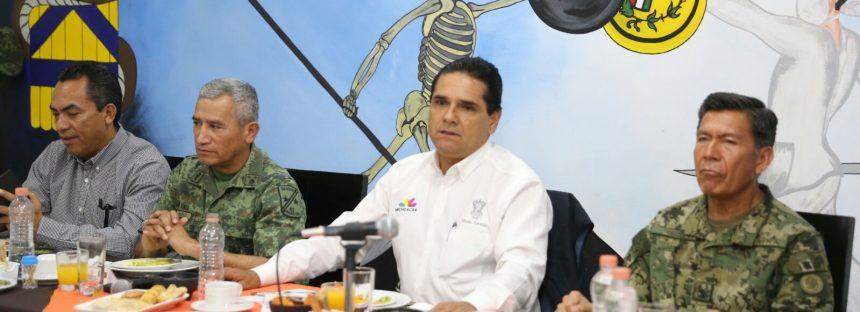 Seguridad, desarrollo y estabilidad, prioridades de mi Gobierno: Silvano Aureoles