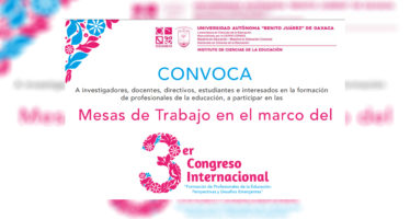 """3er Congreso Internacional """"Formación de Profesionales de la Educación: Perspectivas y Desafíos Emergentes"""""""