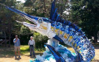 Social Plastics: arte a partir de la basura