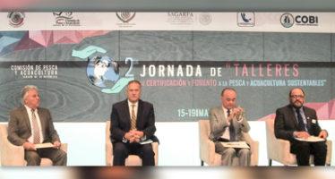 México es un país con estructura legal e instrumentos jurídicos para el ordenamiento pesquero