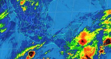En regiones de Chiapas y Oaxaca se esperan fuertes tormentas