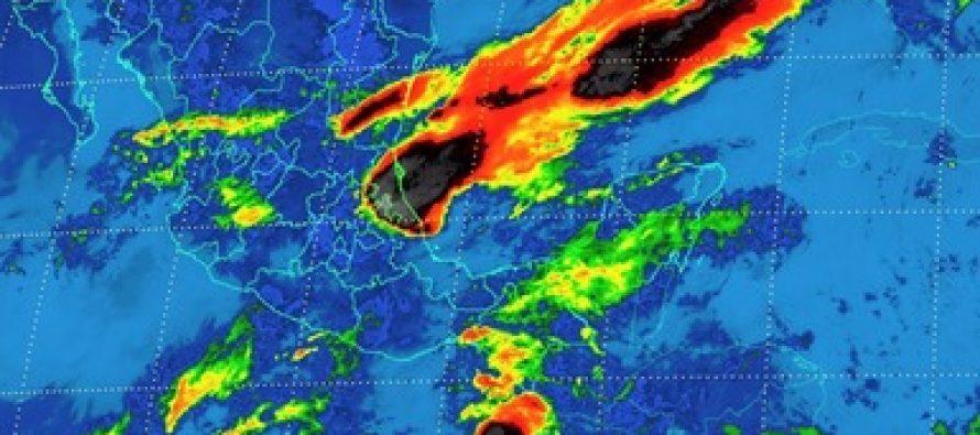 Se pronostican fuertes tormentas en distintos puntos del país