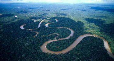 El Amazonas estuvo bajo el mar dos veces