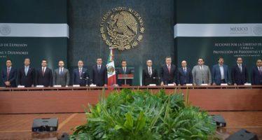 Palabrería desgastada la promesa de Enrique Peña Nieto sobre seguridad de periodistas