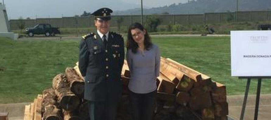 Dona Profepa madera a militares del Estado de México