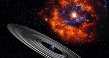Un planeta gigante y con anillos causa misteriosos eclipses
