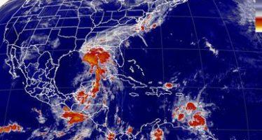 Tormentas muy fuertes se esperan en el sur y sureste del país