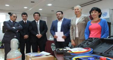 Semarnat, en coordinación con el IPN realiza capacitaciones para técnicos en refrigeración