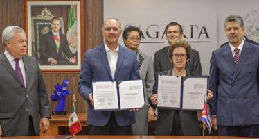 Avanzan México y Cuba en acciones de cooperación científica y técnica en pesca y acuacultura