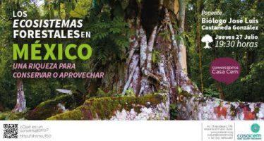 Conversatorio: Los ecosistemas forestales en México