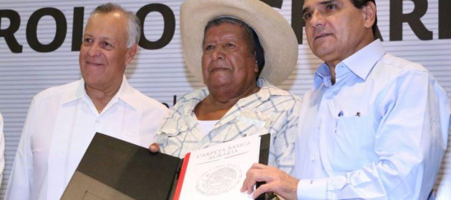 Silvano Aureoles Conejo, pide incluir el tema de cambio de uso de suelo en agenda del sector agrario