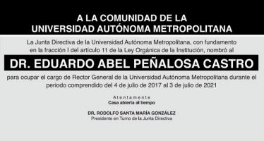 Toma de posesión del Dr. Eduardo Abel Peñalosa Castro