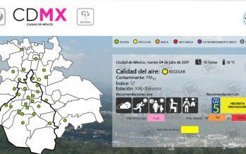 Continua regular la calidad del aire en la zona metropolitana
