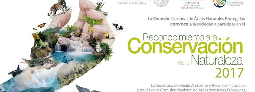 Convocatoria, Reconocimiento a la conservación de la naturaleza 2017