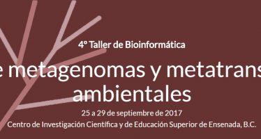 4° Taller de bioinformática, Análisis de metagenomas y metatranscriptomas ambientales