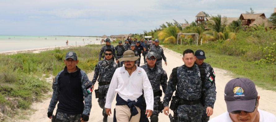 Capacitan a elementos de la gendarmería para operar en todo Yucatán