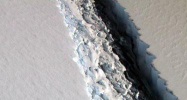 Un iceberg del tamaño de Cantabria se desprende de la Antártida