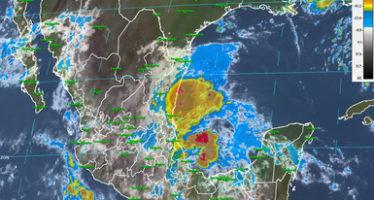 Se esperan tormentas intensas al sur del país