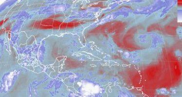 Tormentas intensas se esperan para el centro del país