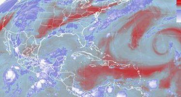 Tormentas intensas se prevén al sur del país