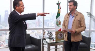 Se asigna nuevo delegado de la SEMARNAT en Hidalgo