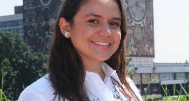 María Regina Apodaca estudiante de la UNAM, realiza un modelo de helicóptero que podría ser usado por la NASA en Marte