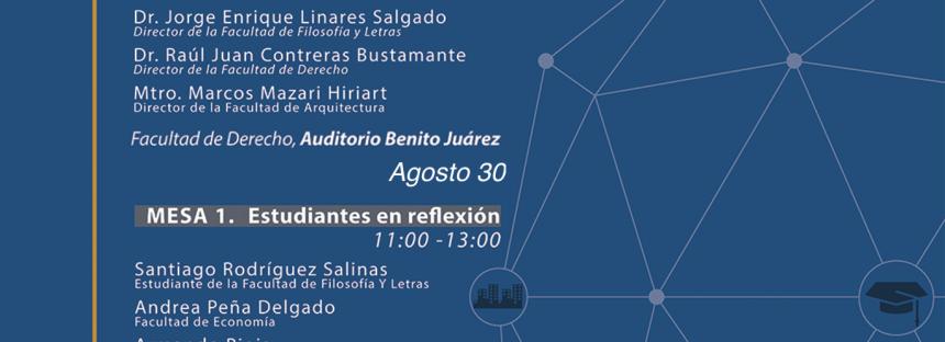 UNAM Invita, Reflexiones Universitarias: Los retos del presente