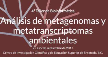Taller de Bioinformática Análisis de metagoenomas y metatranscriptomas ambientales en el CICESE