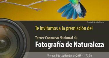Premiación del Tercer Concurso Nacional de Naturaleza