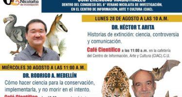 Conferencias magistrales dentro del congreso del 6° verano nicolaita de investigación