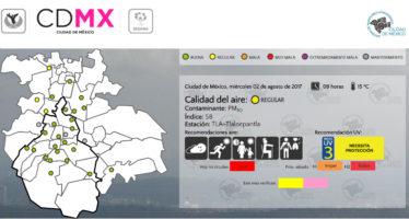 Regular la calidad del aire en CDMX