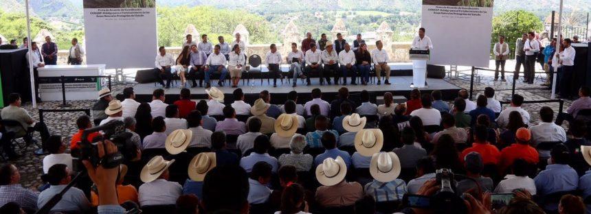 Acuerdan la Conanp y el gobierno de Hidalgo más apoyos para ANP