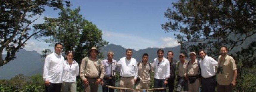 Liberan dos ejemplares de pavón nacidos en cautiverio, para repoblamiento en la RB La Sepultura de Chiapas