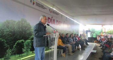 Inicia Campaña Estatal de Reforestación; plantar 21 millones de arbolitos, la meta