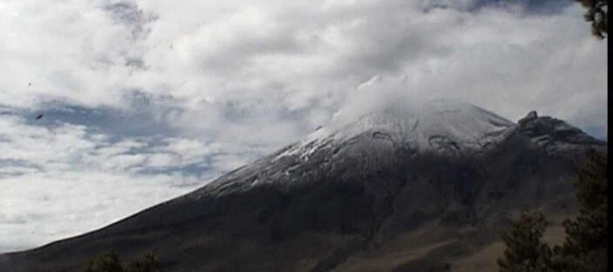 Se registran dos sismos provenientes del volcán Popocatépetl