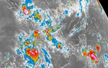 Tormentas intensas se esperan en el norte, centro y sur del país