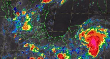 Se esperan tormentas intensas en el sureste del país