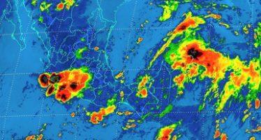 Tormentas intensas se pronostican para el sureste del país