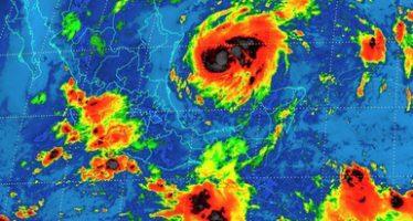 Se pronostican tormentas intensas al sur del país