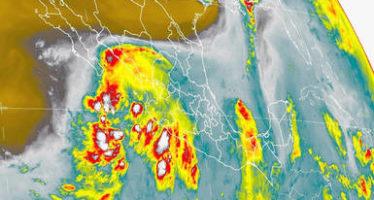Lluvias muy fuertes se esperan en distintos puntos del país