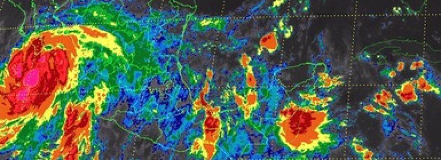 Tormentas torrenciales se esperan para Baja California Sur y Jalisco