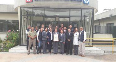 Se entregó Certificado de Calidad Ambiental a Medica Azul SA de CV