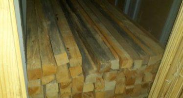 Aseguran 17 metros cúbicos de madera de pino en Querétaro