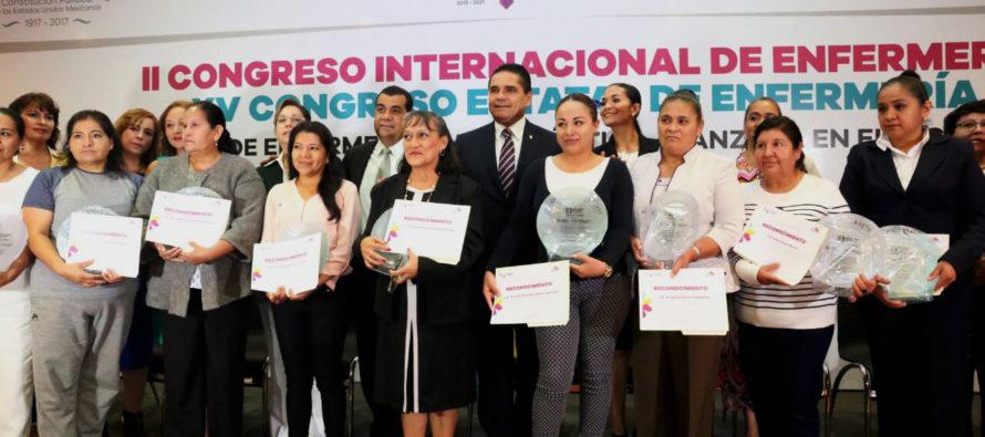 El gobernador Silvano Aureoles, dice que Michoacán será el estado con los mejores servicios de salud